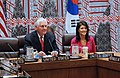 Secretary Tillerson and Ambassador Haley Meet With Korean Foreign Minister Yun and Japanese Foreign Minister Kishida in New York City (33939060390).jpg
