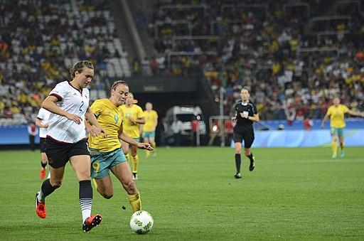 Australia vs Germany women's olympic soccer