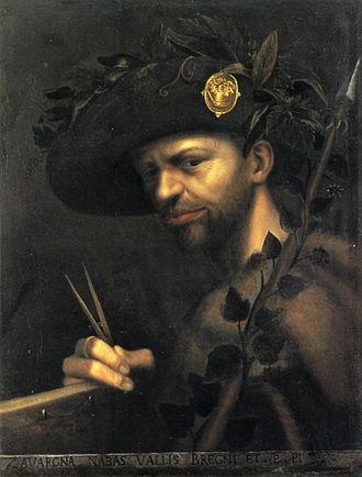 Gian Paolo Lomazzo - Self-portrait