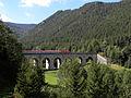 Semmering - Semmeringbahn - Fleischmannviadukt und Wolfsbergkogel.jpg