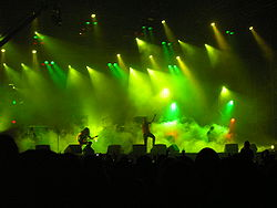 Sentenced på Wacken Open Air 2005.