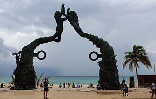 Playa del Carmen Place in Quintana Roo, Mexico