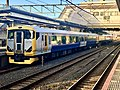 Series E257-500 NB-11 Gray Stripe in Narita Station 02.jpg