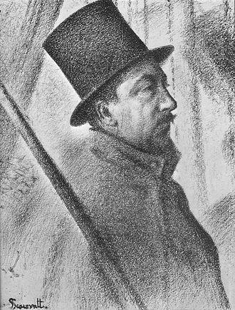 Conté - Image: Seurat Paul Signac
