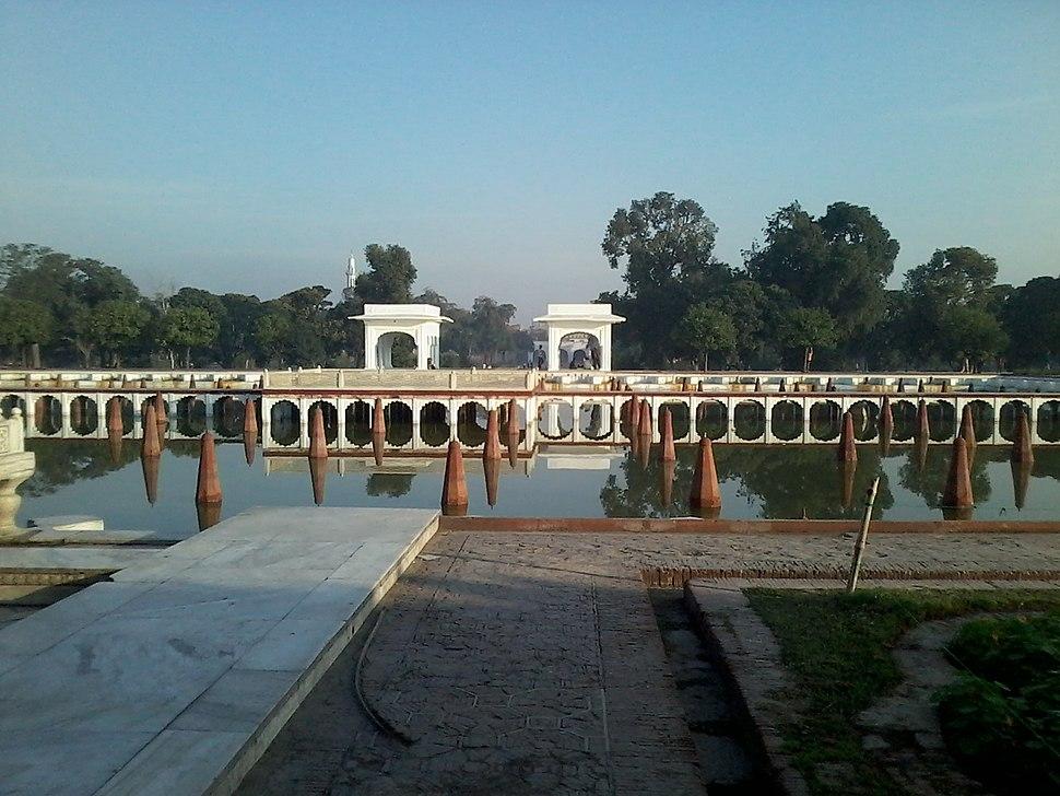Shalimar Gardens, Lahore (Faiz Baksh Tarrace- 2nd tarrace of the Garden)