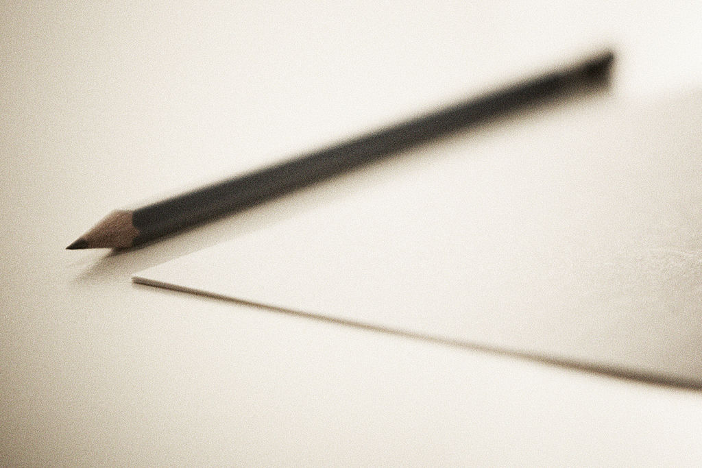 File Sharpened Pencil Next To Sheet Paper Jpg Wikimedia