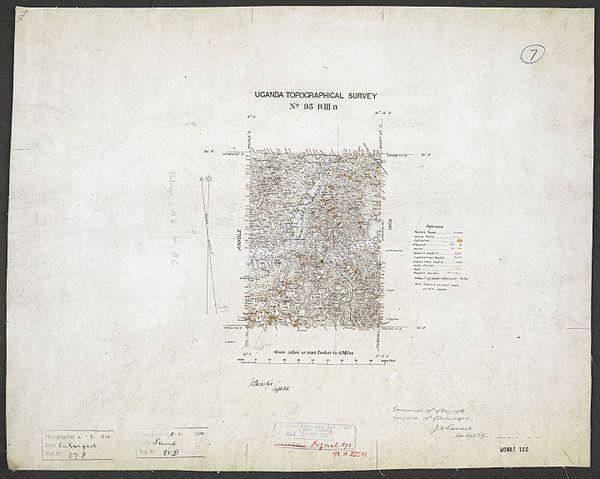 600px sheet south a 36 b   war office ledger.uganda topographical survey. %28woos 13 7 7%29