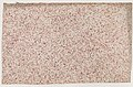 Sheet with an overall red speckle pattern Met DP886827.jpg