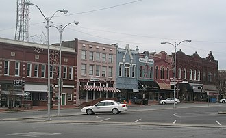 Shelbyville, Tennessee - Town Square of Shelbyville