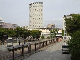 railway station in Urayasu, Chiba prefecture, Japan