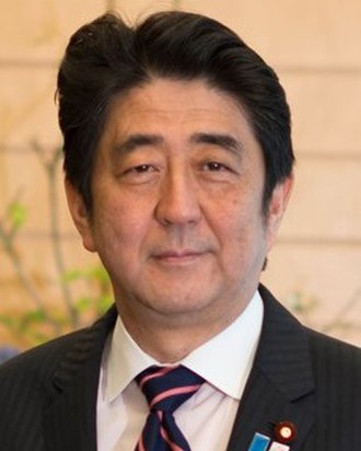 2013 Japanese House of Councillors election - Image: Shinzo Abe cropped