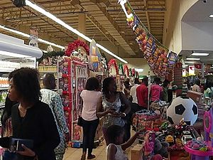 Ilorin - Shoppers at the Palms Mall in Ilorin