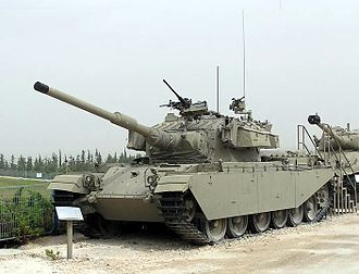 "Valley of Tears - An Israeli Centurion tank upgraded as ""Sho't Kal"" tank."