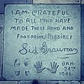 Sid Grauman's Handprint & Signature at Grauman's Chinese Theatre.jpg