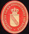 Siegelmarke Adjutantur Seiner Königlichen Hoheit des Grossherzogs von Baden W0232687.jpg