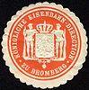 Siegelmarke Königliche Eisenbahn - Direction zu Bromberg W0229441.jpg