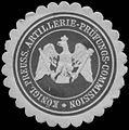 Siegelmarke K.Pr. Artillerie-Prüfungs-Commission W0379417.jpg
