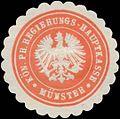 Siegelmarke K.Pr. Regierungs-Hauptkasse Münster W0345391.jpg