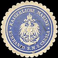 Siegelmarke Kaiserliche Marine - Kommando S. M. S. Carola W0215679.jpg