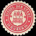Siegelmarke Siegel der Stadt Guben W0209376.jpg
