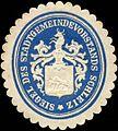 Siegelmarke Siegel des Stadtgemeindevorstands Schleiz W0211715.jpg