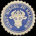 Siegelmarke Stadt Siegel zu Krakow W0309740.jpg