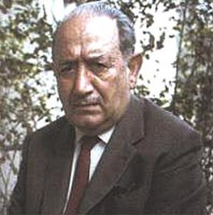Ignazio Silone - Silone in his last years.