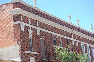 Alfred C. Finn - Upper story of the Simon Theatre, Brenham, Texas