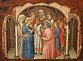Simone dei crocifissi, sette episodi della vita di maria1396-98 ca, da polittico cospi in s. petronio 04.jpg