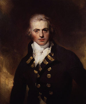 Graham Moore (admiral) - Oil on canvas portrait, c. 1792, by Sir Thomas Lawrence