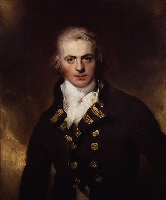 Graham Moore (Royal Navy officer) - Oil on canvas portrait, c. 1792, by Sir Thomas Lawrence