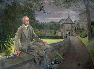 Sir John Stirling-Maxwell, 10th Baronet - Sir John Stirling Maxwell (1866–1956), 10th Bt by William Bruce Ellis Ranken, Pollok House
