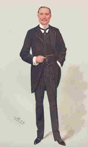 Melville Macnaghten - Macnaghten caricatured by Spy for Vanity Fair, 1908