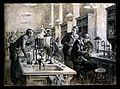 Sir Ronald Ross, C.S. Sherrington, and R.W. Boyce in a labor Wellcome V0006747.jpg