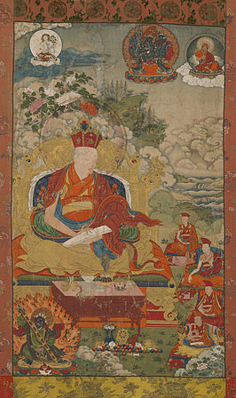 Situ Panchen as the Great Transmitter of his Lineage. ca. 1760, Rubin Museum of Art, NY.jpg