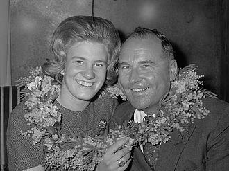 Arnold Gerschwiler - Sjoukje Dijkstra and Arnold Gerschwiler (1963)