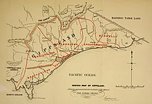 Sketch Map of Gippsland - Showing approximately the Positions of the Clans of the Kurnai Tribe.jpg