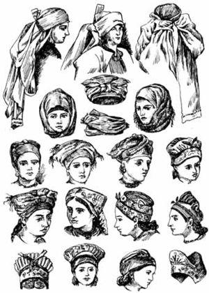 Ochipok - Traditional Ukrainian headdress