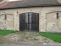 Slatina (okres Litoměřice), vrata stodoly.JPG