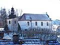Slatina u Velvar, kostel svatého Vojtěcha se zvonicí.jpg