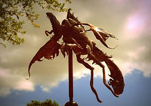 Coppersmith - Copper weather vane created by using traditional coppersmithing techniques