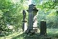 Socha svatého Václava u podstavce jiné sochy u silnice z Mezní Louky do Mezné (Q78787987) 01.jpg