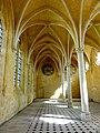 Soissons (02), abbaye Saint-Jean-des-Vignes, réfectoire, vaisseau ouest, vue vers le nord 3.jpg