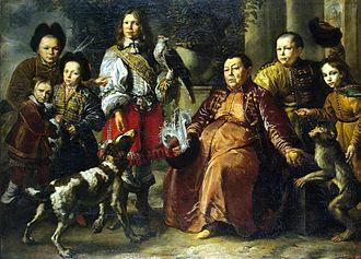 Daniel Schultz - Crimean Falconer of King John Casimir, 1664