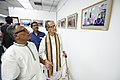 Somendranath Bandyopadhyay Accompanied By Tarak Sengupta Visiting 1st Four Ps Group Exhibition - Kolkata 2019-04-17 5491.JPG