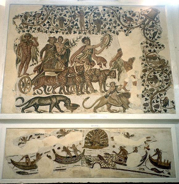 Fichier:Sousse museum mosaic animals.jpg