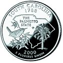 Quarter of Sooth Carolina