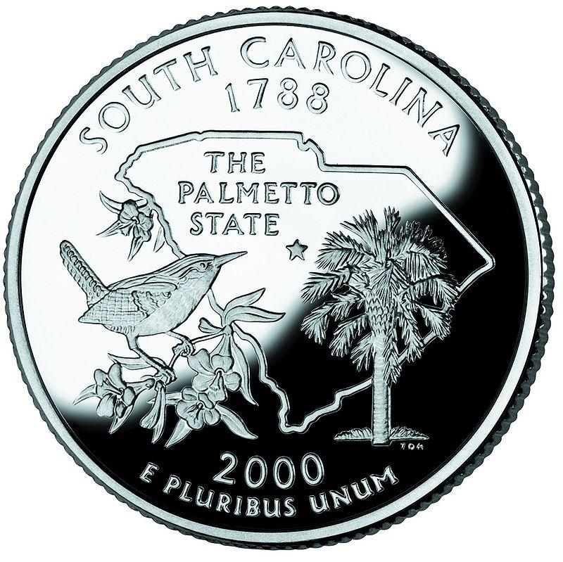 South Carolina quarter, reverse side, 2000.jpg