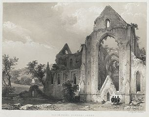 South Front, Tintern Abbey
