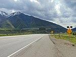 Southeast toward US-6 & SR-198 junction in Spanish Fork, Utah, May 16.jpg